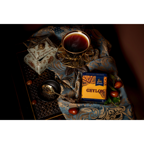British Colony Royal Ceylon te dåse med løs te
