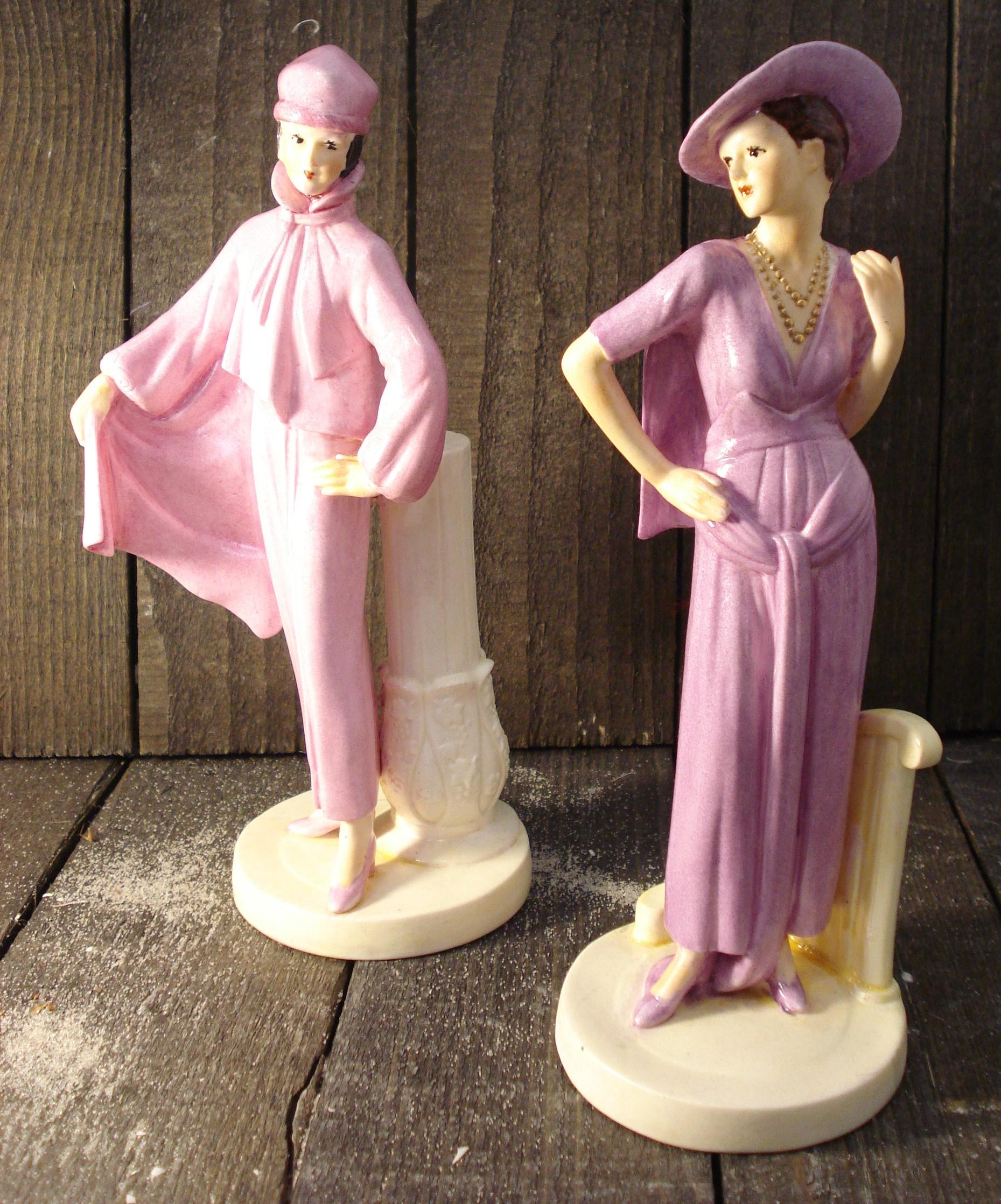 Franske damefigurer