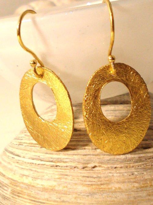 Øreringe fra Guldsmeddesign