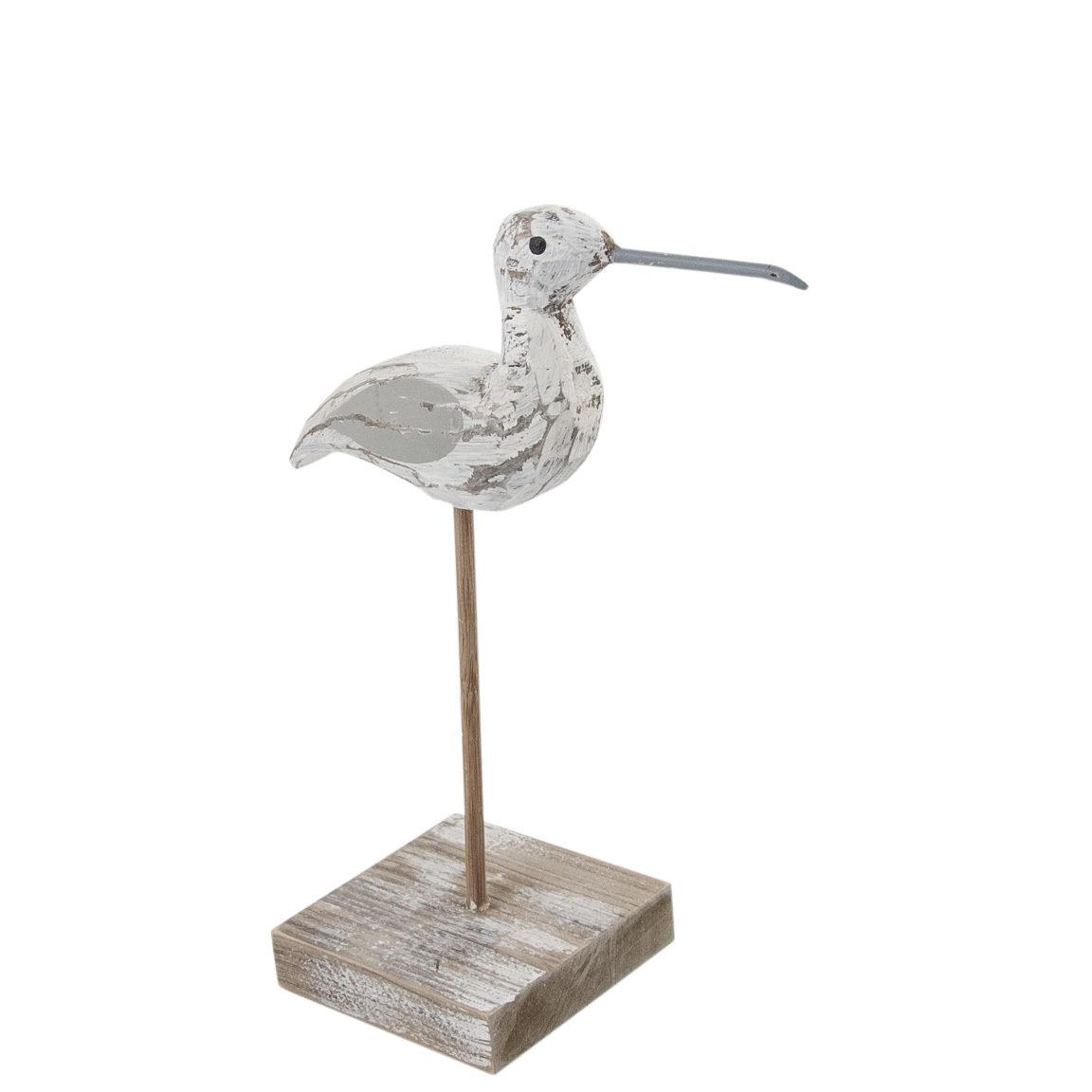 Drivtømmer strandfugl