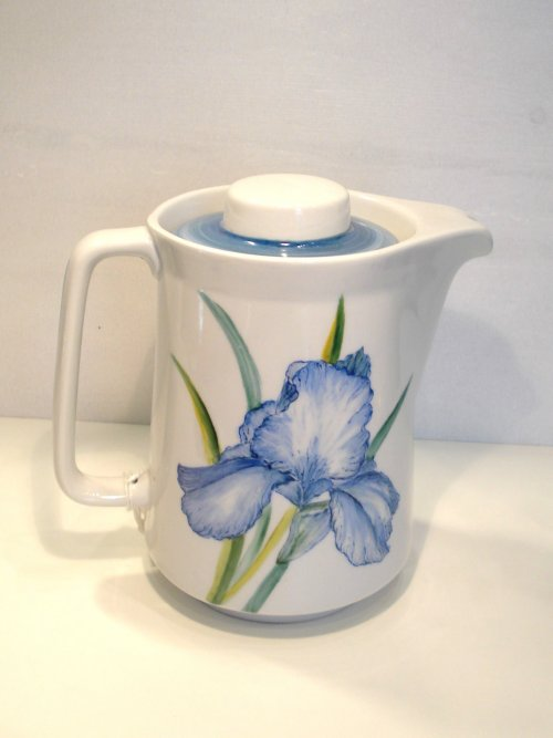 Håndmalet porcelænskander