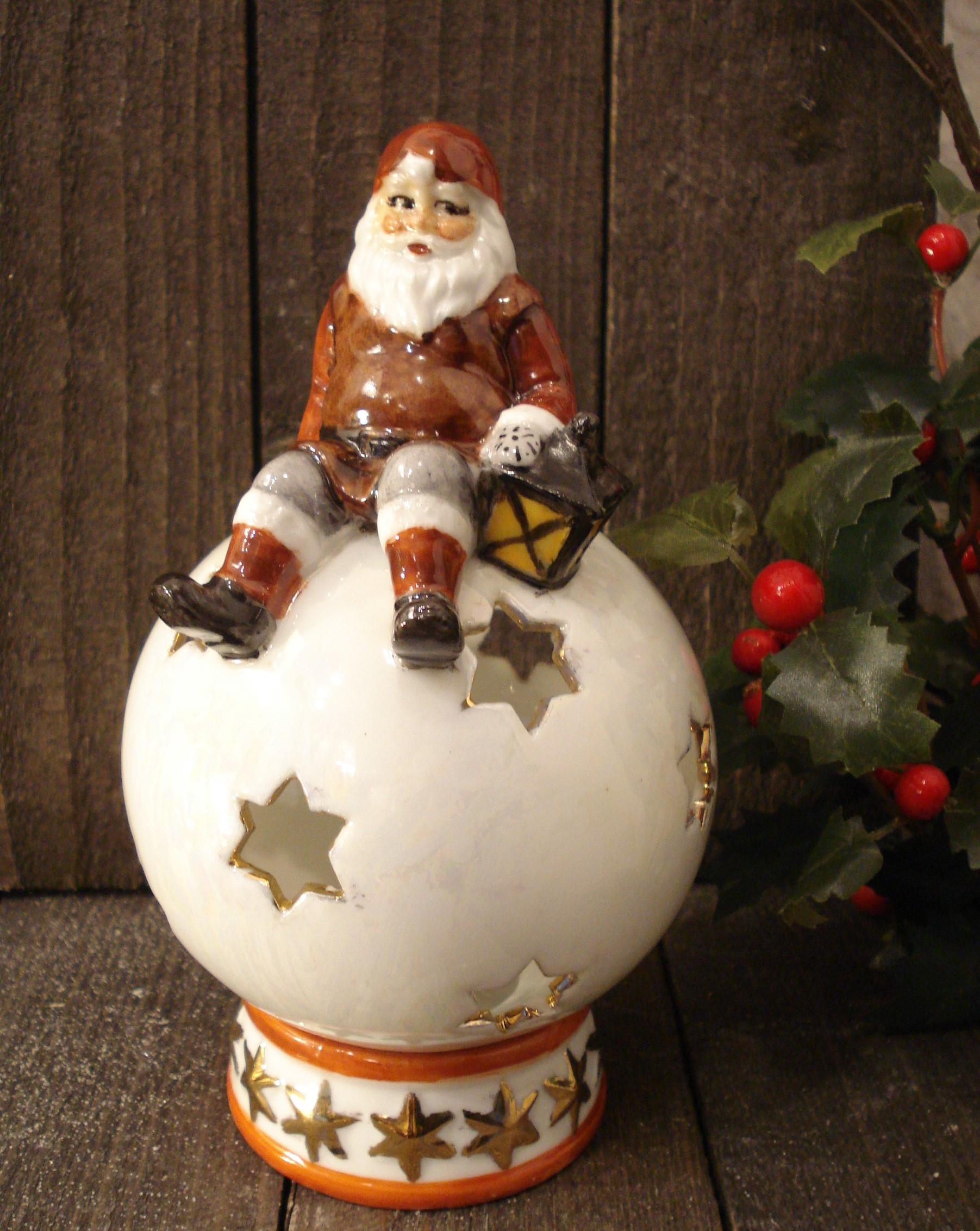 Julemand på kugle