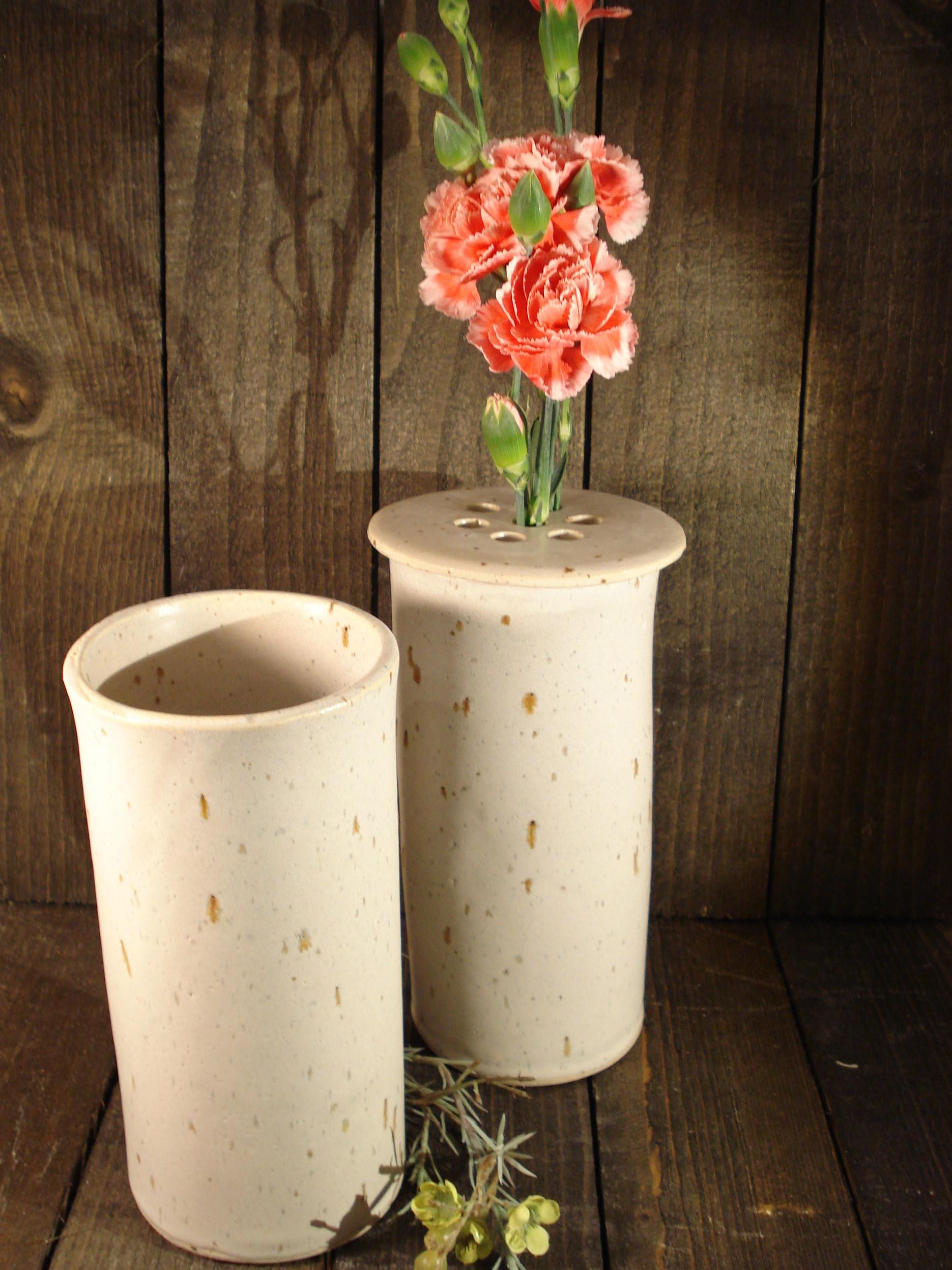 Cylindervase fra Lerværket