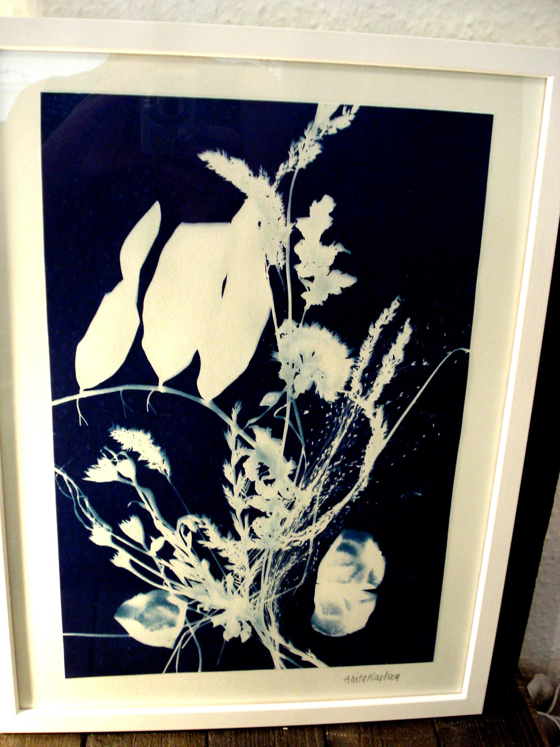 Cyanotopi blomsterbuket