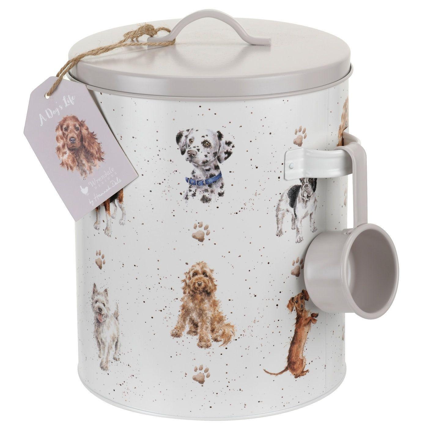 Wrendale - Dog Food Tin