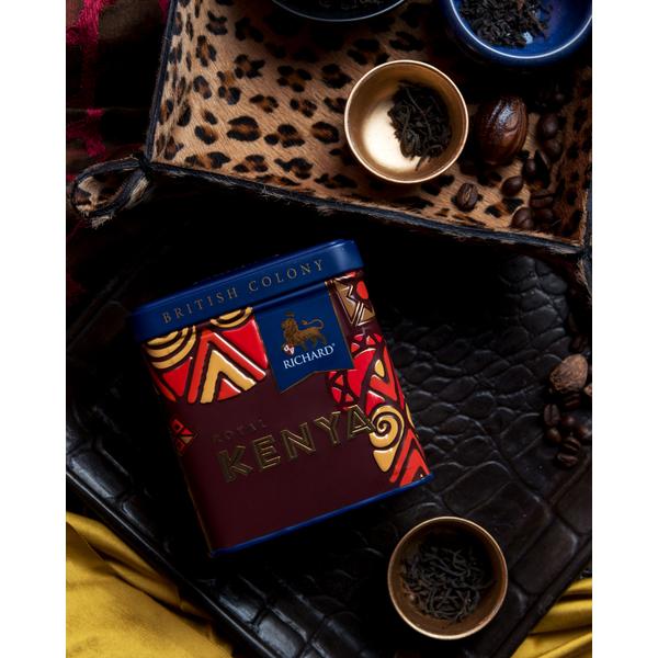 British Colony Royal Kenya te dåse med løs te