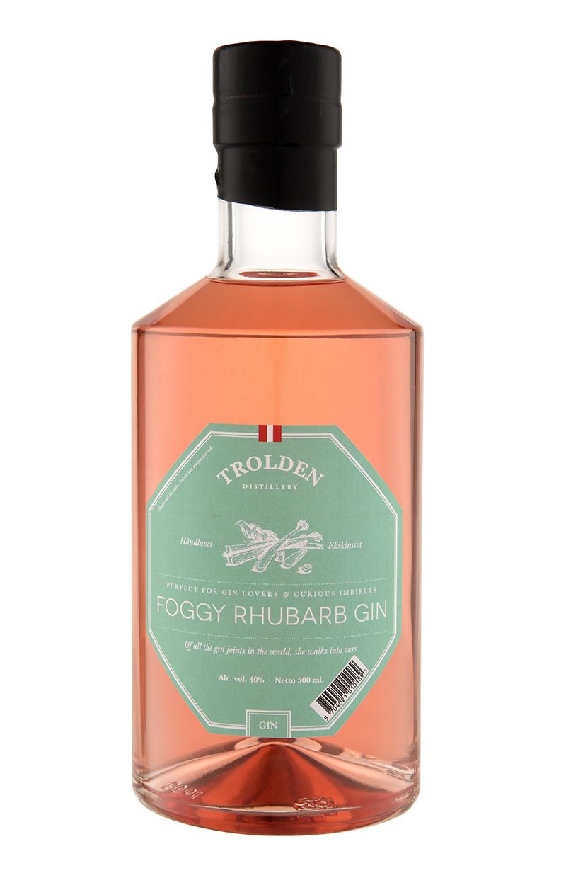 Trolden Froggy Rhubarb gin