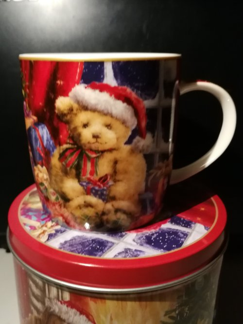 Julekrus på dåse