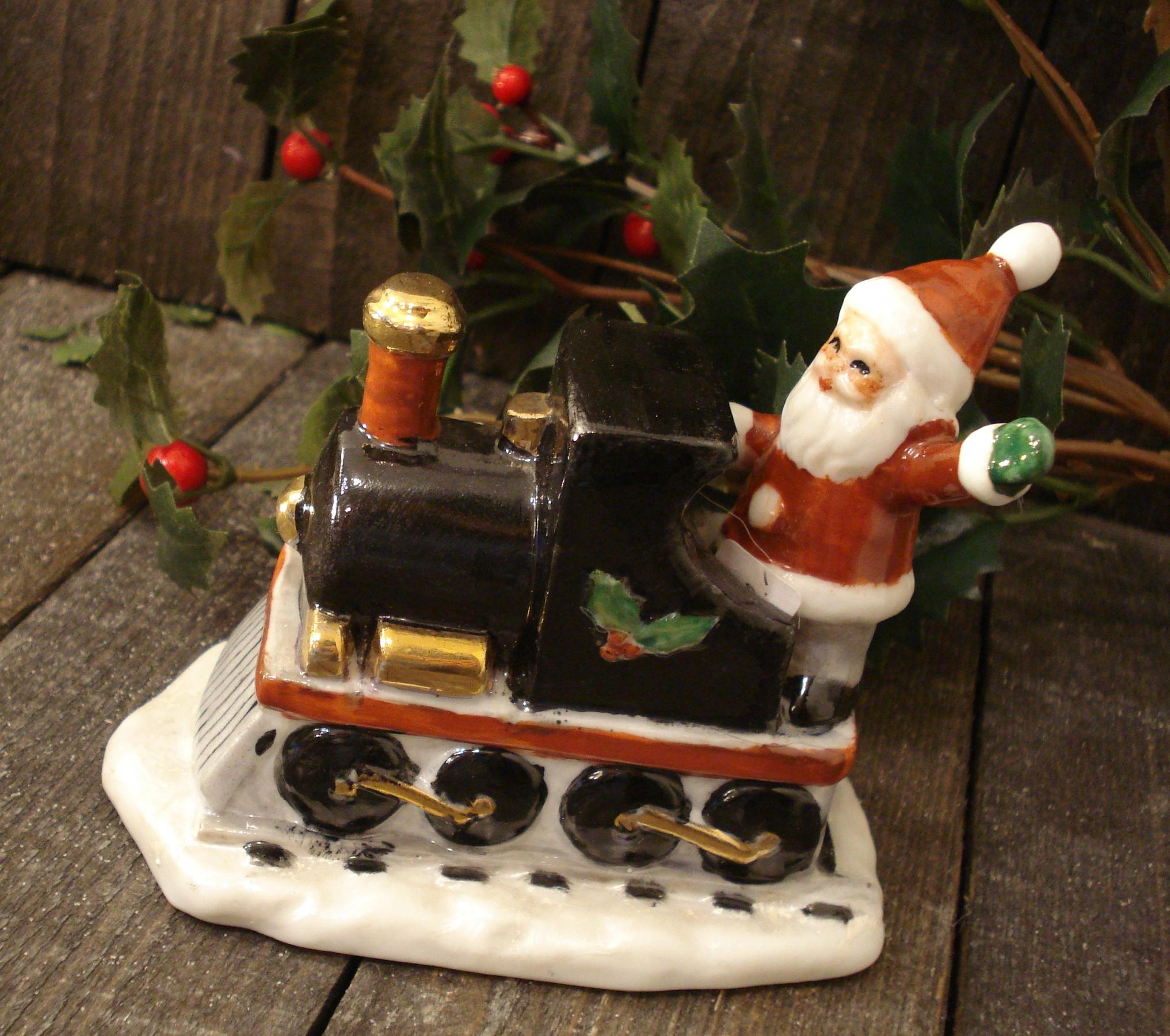 Juletog i porcelæn