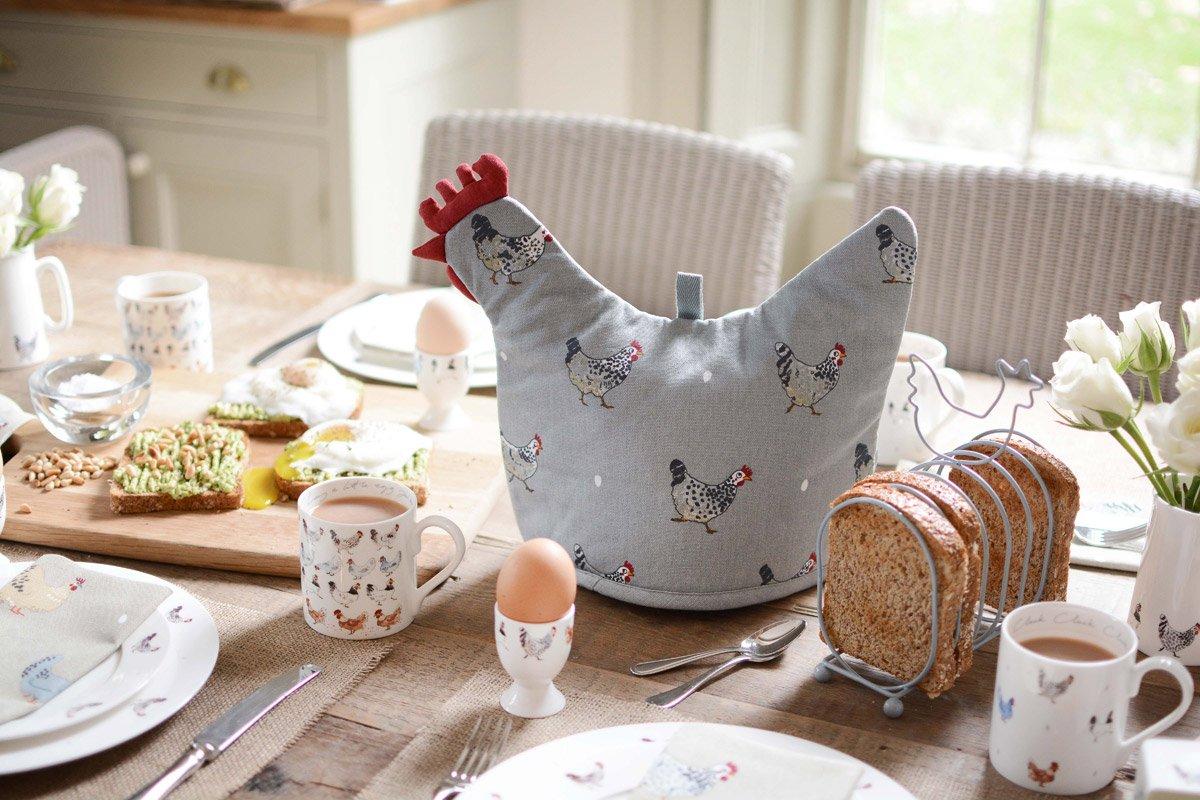 Høne tehætte fra Sophie Allport