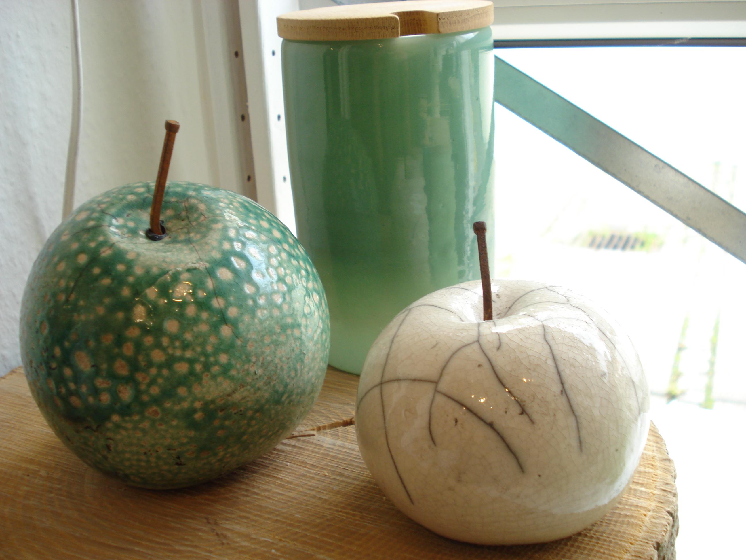 Raku æbler fra Lerværket