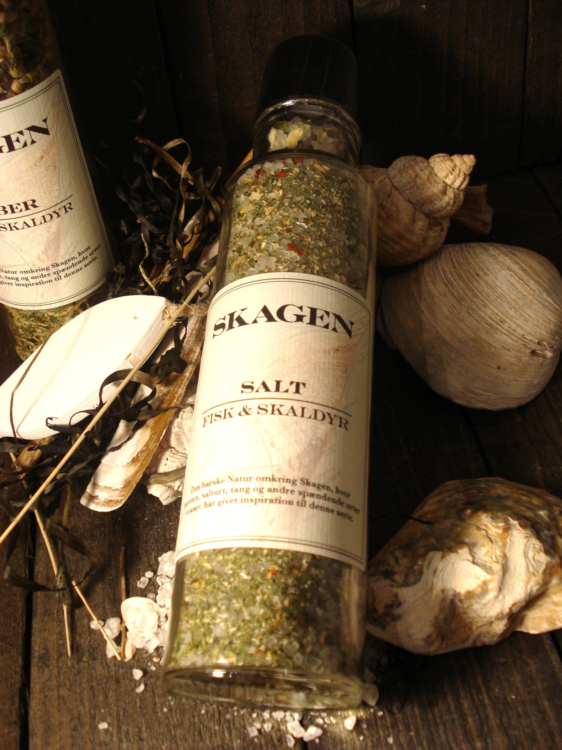 SKAGEN Salt til fisk og skaldyr