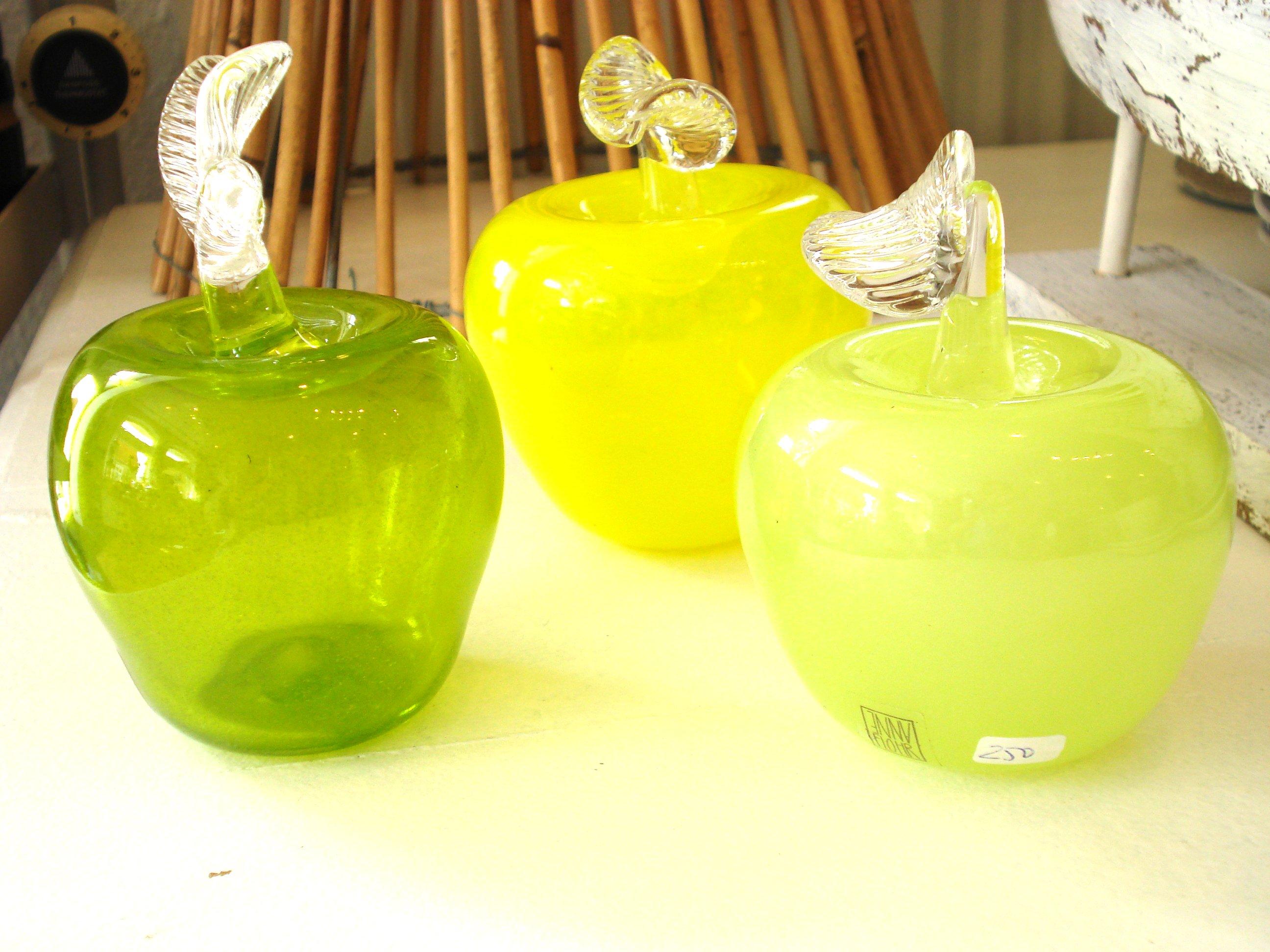 Glas æbler fra Anne Flohr