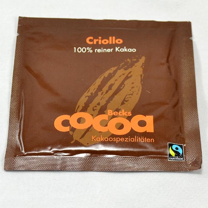 Cocoa Criollo brev