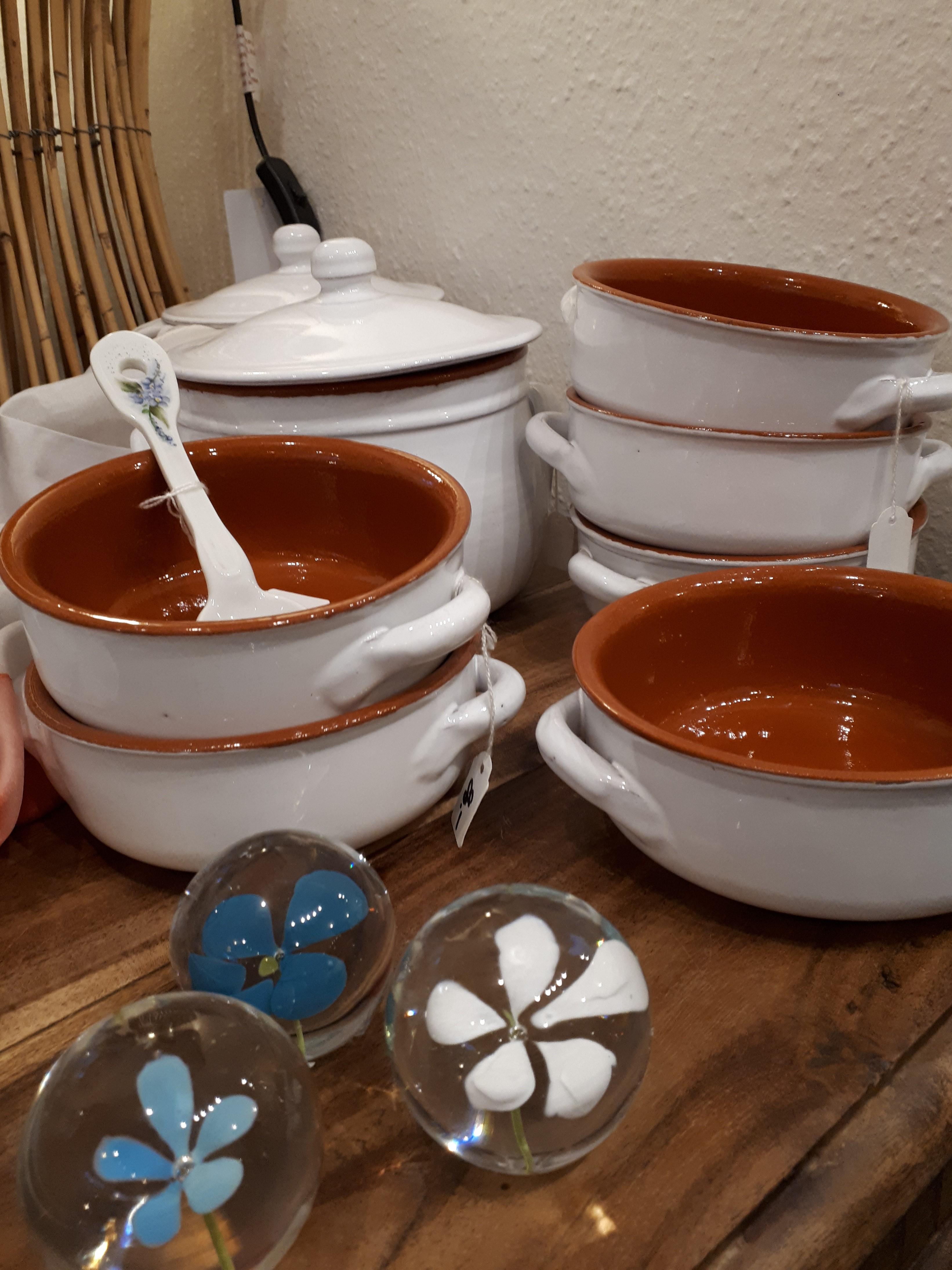 Terracotta skåle