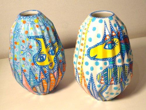 Håndtegnet vaser fra BAKAOS
