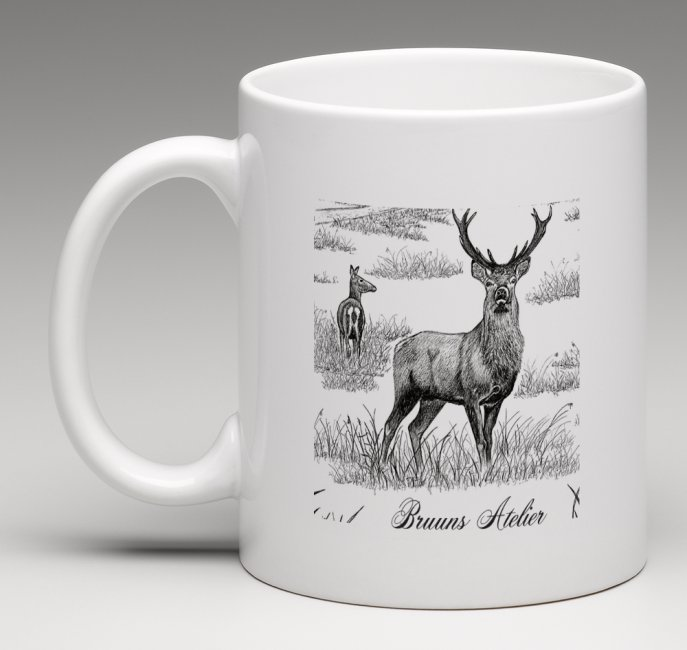 Jagtkrus med Bruuns Ateliers motiv
