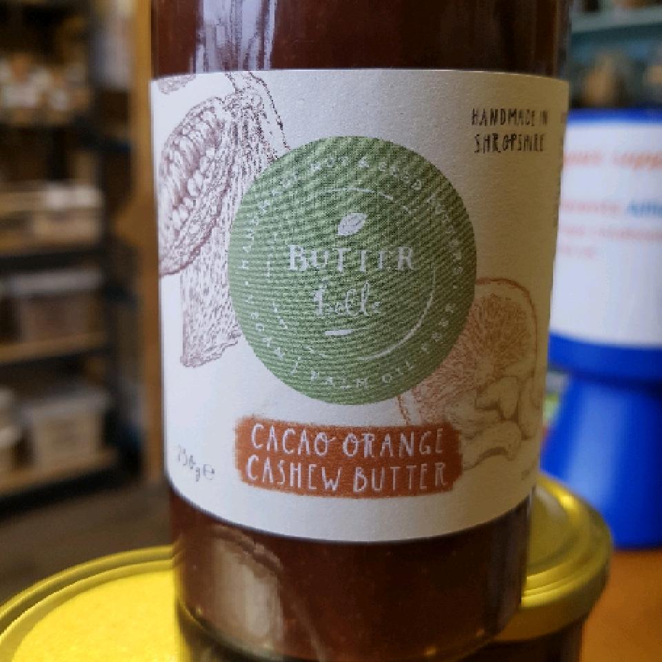 Cacao Orange Cashew Nut Butter - 250g