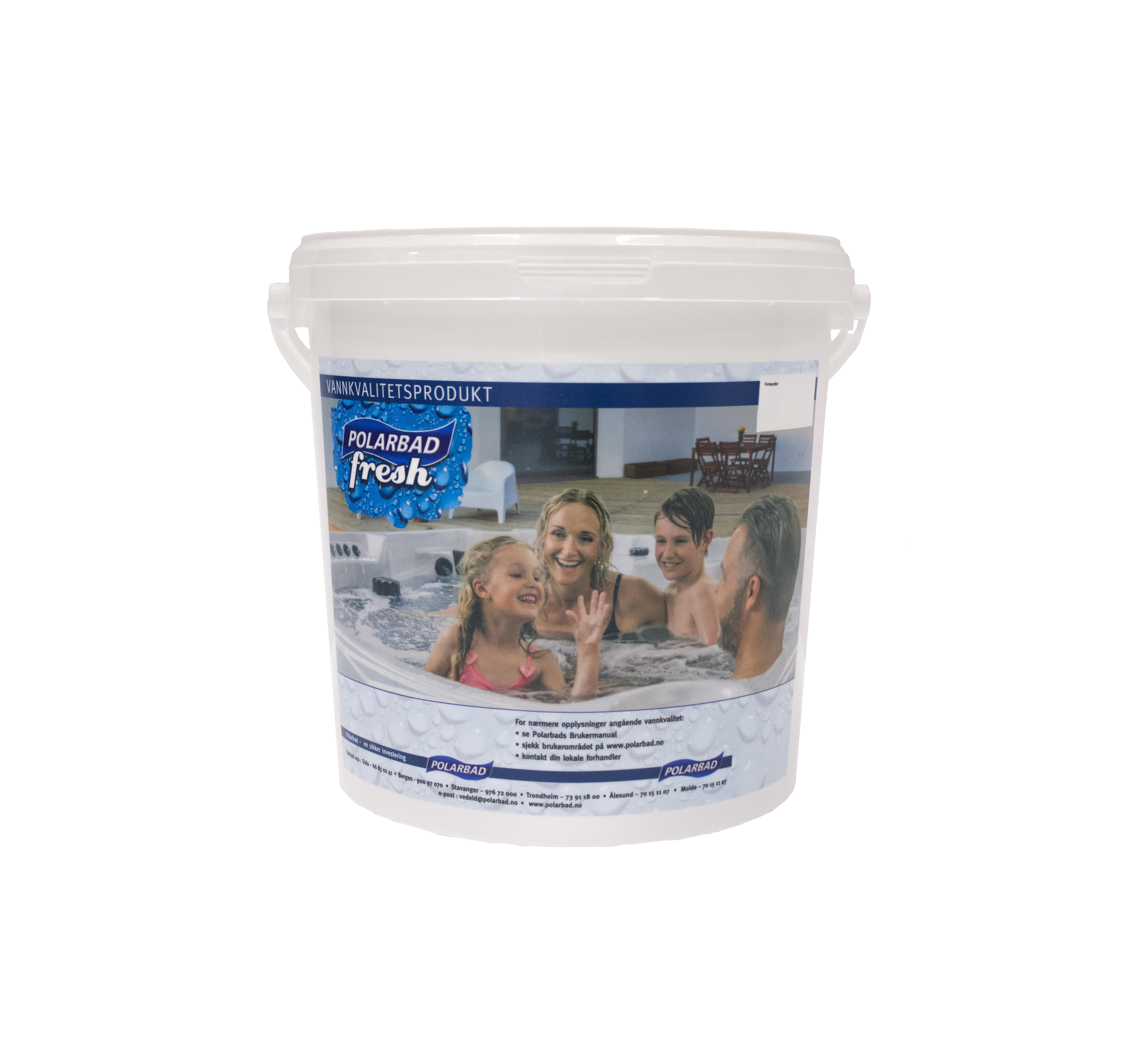 Polarbad Fresh Kit uten salt