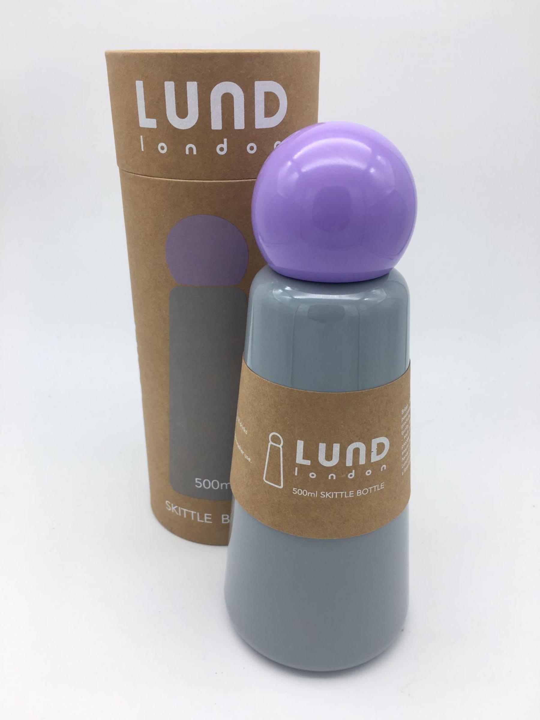 Light Grey Lund Water Bottle
