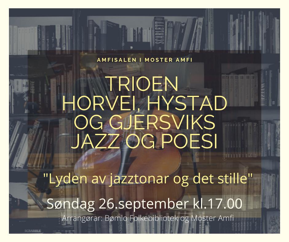 Lyden av jazztonar og det stille
