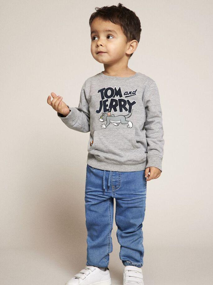 Name it Mini Tröja Med Tom & Jerry Tryck i Ekologisk Bomull