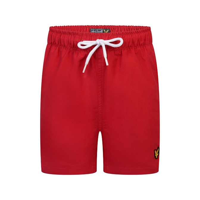 Lyle & Scott Classic Swim Shorts Röd