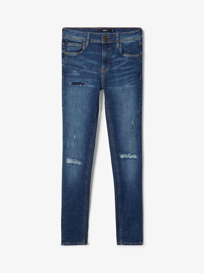 LMTD Teens Tarty Slim Fit Jeans i Ekologisk Bomull