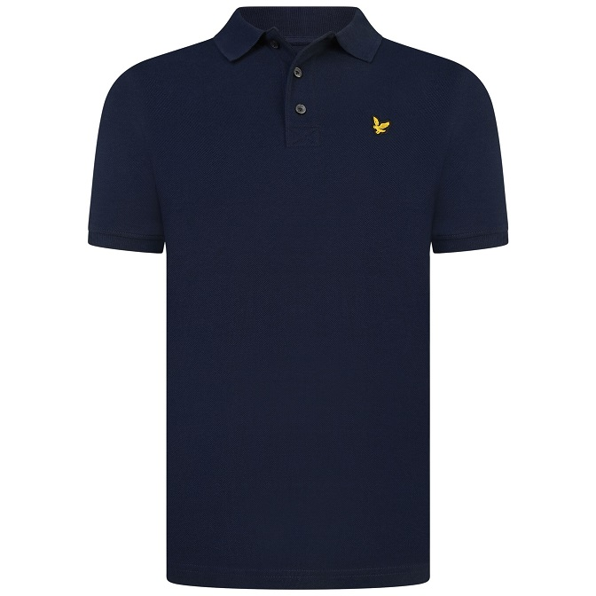 Lyle & Scott Classic Polo Shirt Navy