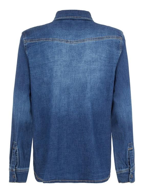 LMTD Jeansskjorta i Regular Fit