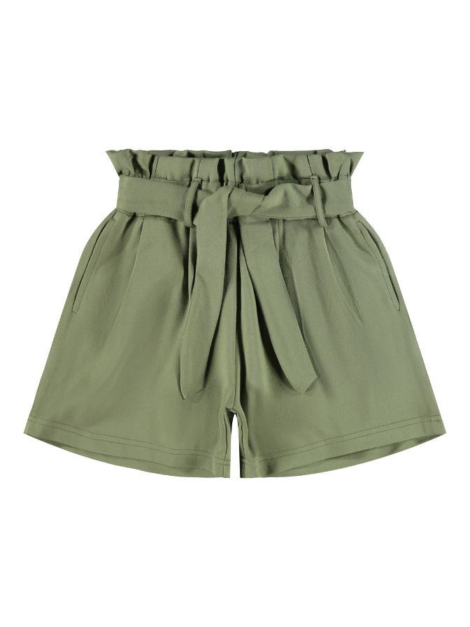 Name it Kids Paperbag Shorts Grön