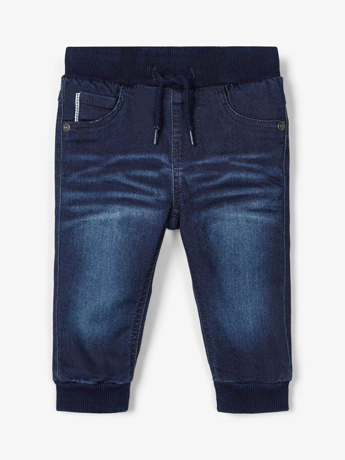 Name it Baby Jeans i Ekologisk Bomull
