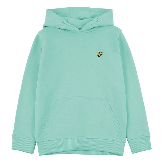 Lyle & Scott Junior Classic OTH Hoodie Neptune Greenf