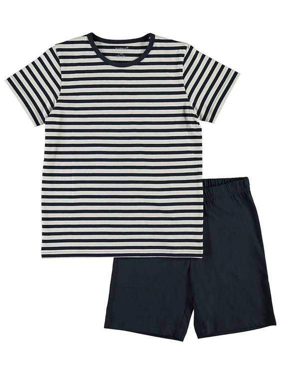 Name it Kids 2-Delad Pyjamas Blå