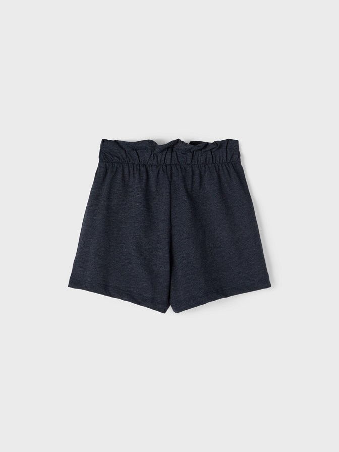 Name it Kids Paperbag Shorts i Ekologisk Bomull Mörkblå