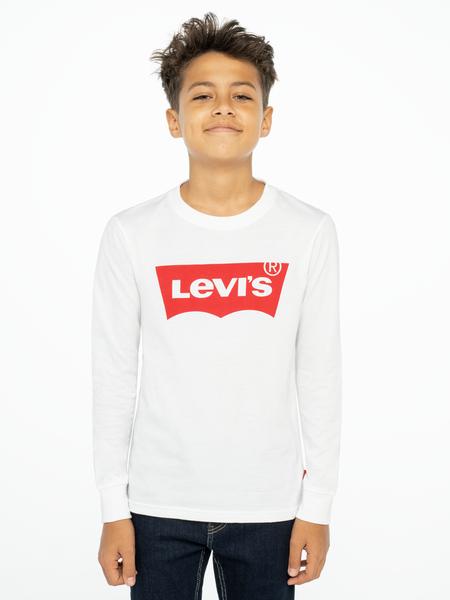Levis Kids Logo Långärmad T-shirt Vit
