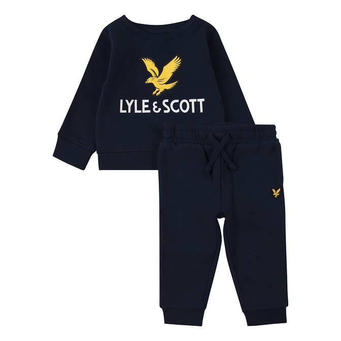 Lyle & Scott Junior Toddler Jogger Set Navy