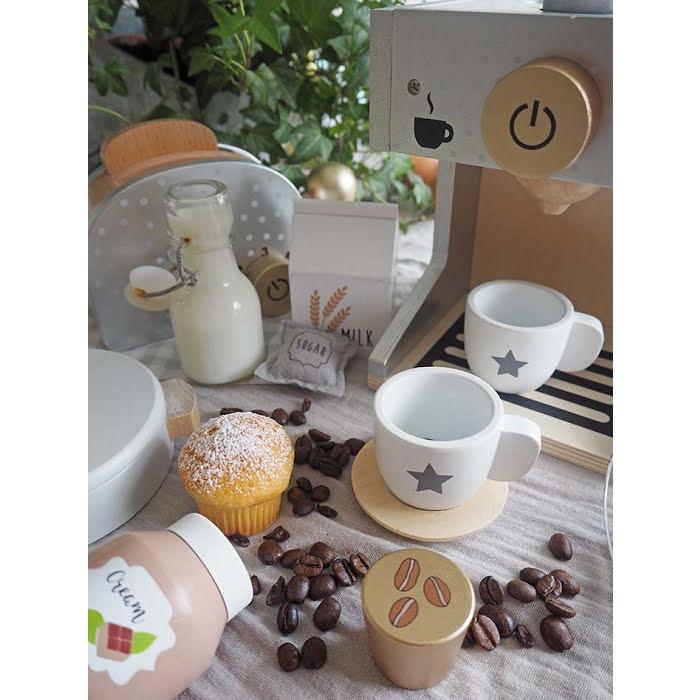 Jabadabado Kaffemaskin i Trä