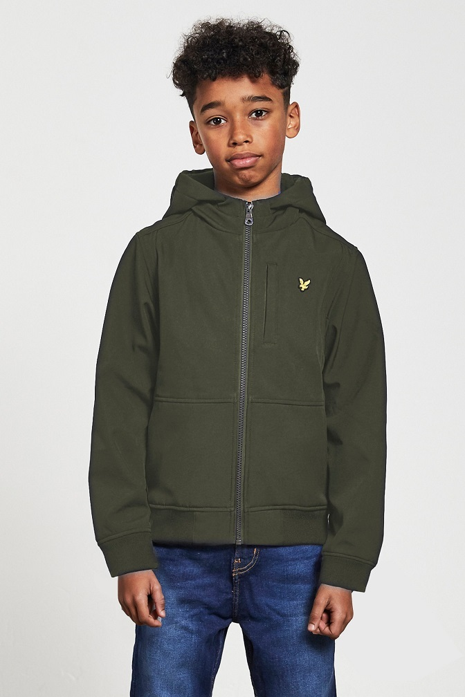 Lyle & Scott Junior Softshell Jacka Grape Leaf