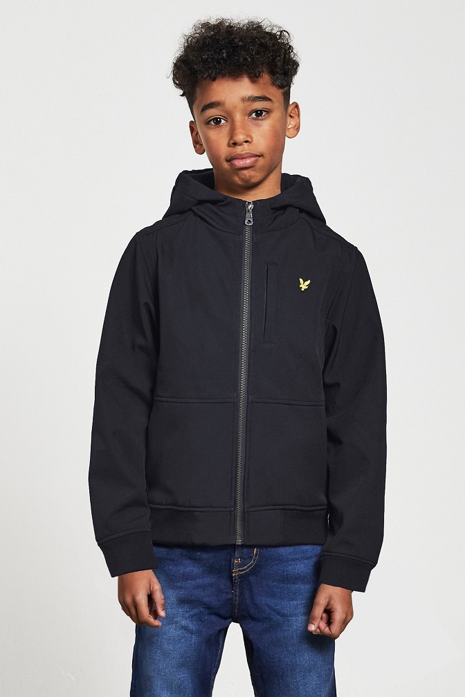 Lyle & Scott Junior Softshell Jacka Black
