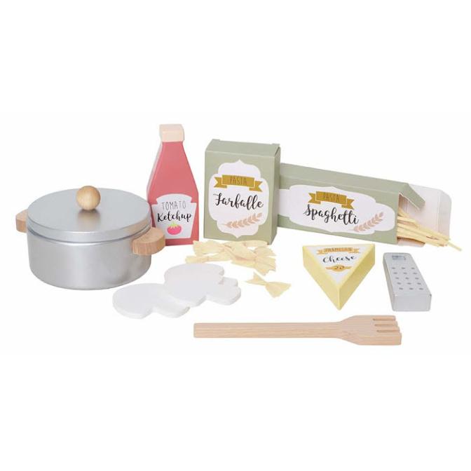 Jabadabado Pasta Set i Trä