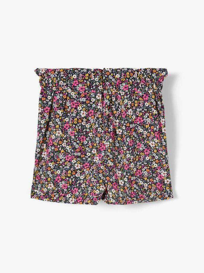 Name it Kids Blommiga Shorts Rosa