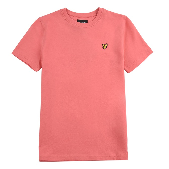 Lyle & Scott Junior Classic T-Shirt Tea Rose