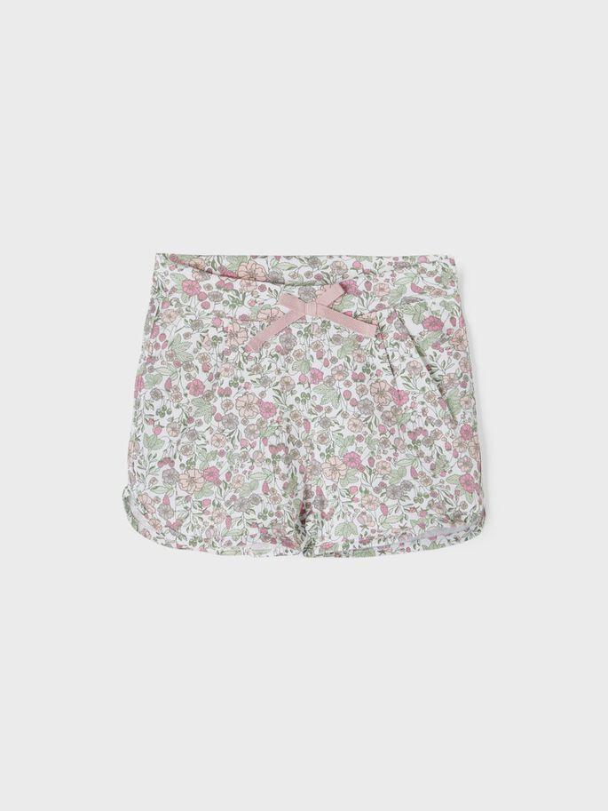 Name it Mini Blommiga Shorts i Ekologisk Bomull