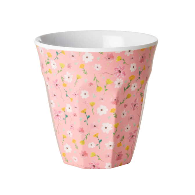 Rice Mugg i Melamin Easter Flower Pink