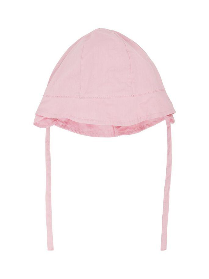 Name it Baby Solhatt Med 50+ UV-Skydd Rosa