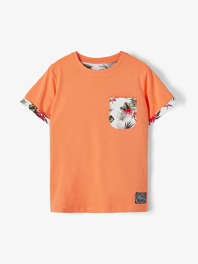Name it Kids T-shirt med Bröstficka
