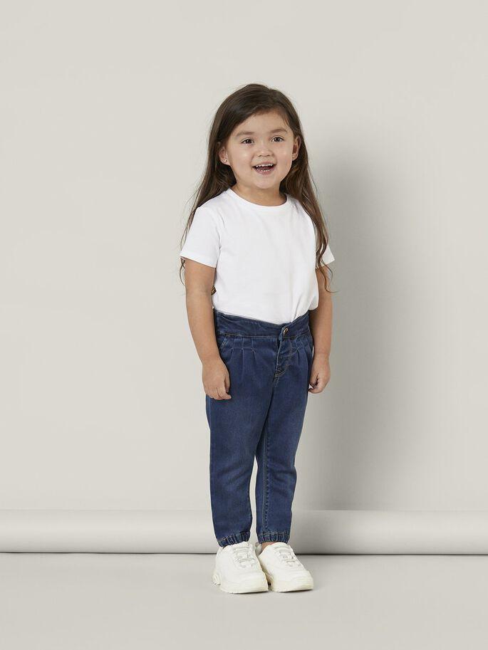 Name it Mini Jeans i Regular Fit Mörkblå Denim