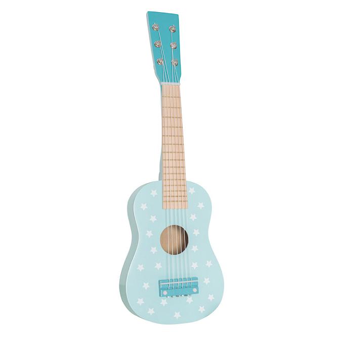 Jabadabado Gitarr i Trä Blå