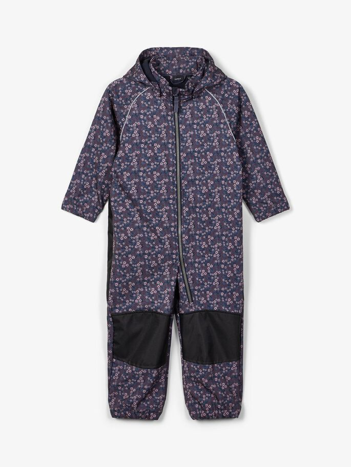 Name it Mini Blommig Softshell Overall